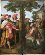 Gummarus en het wonder van de bron, Gummarusaltaar in de Sint-Gummaruskerk