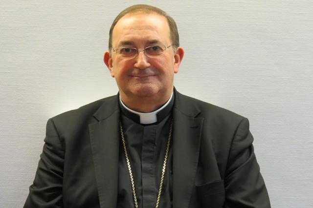 Mgr. Guy Harpigny, bisschop van Doornik © IPID