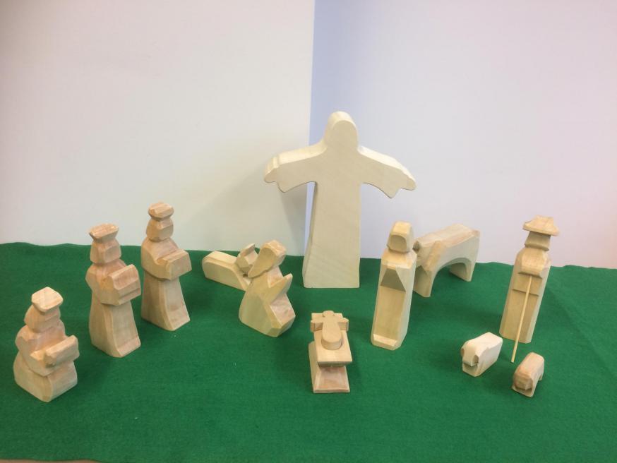 Godly Play - De Heilige Familie in de Tijd door het jaar. © Joke Vermeire