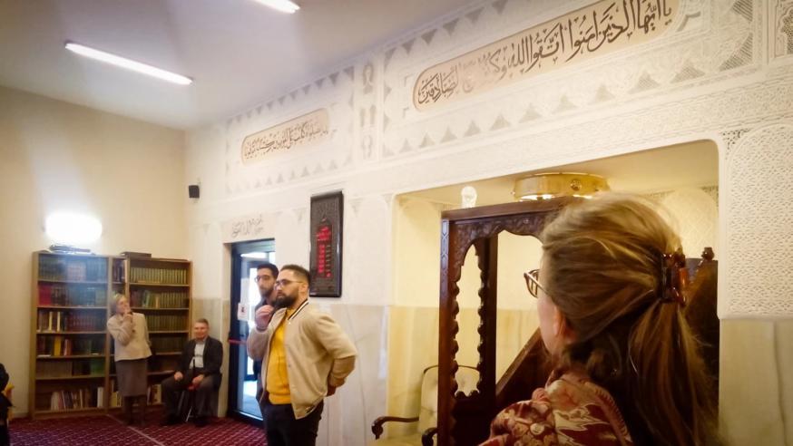 Op bezoek in de moskee van Leuven © PARCUM