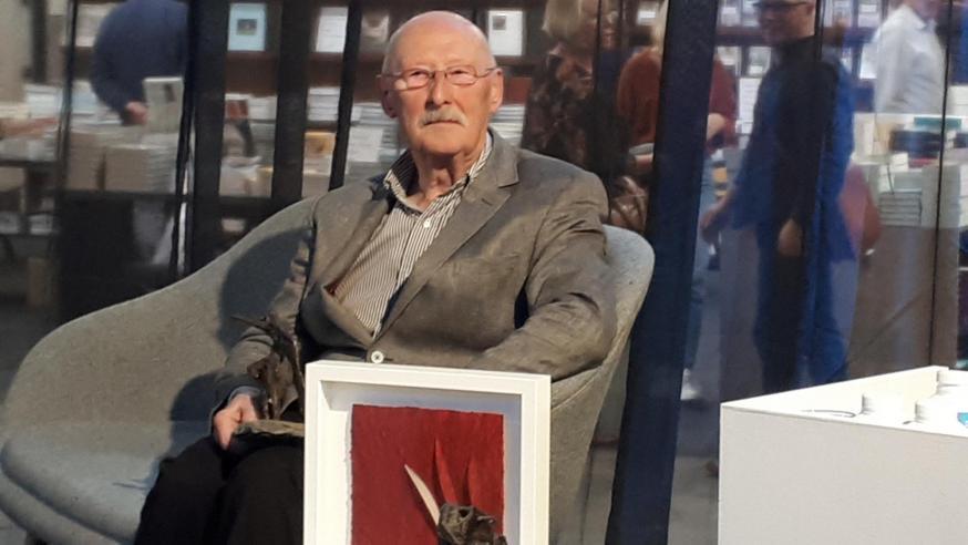 Herman De Dijn wint de Prijs van het Religieuze Boek 2019 © Philippe Keulemans