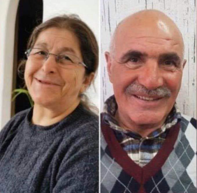 Hourmouz Diril en zijn vrouw Șimoni zijn sinds 11 januari verdwenen in het christelijke dorp Meer in de Turkse provincie Hakkâri © RR