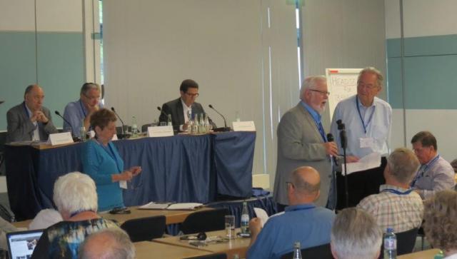In Bonn vond begin juli de jaarlijkse conferentie van de Internationale Raad van Christenen en Joden plaats © Lutgarde Verbouwe