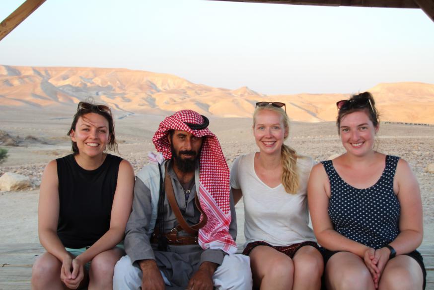 Overnachten bij de Bedoeïnen