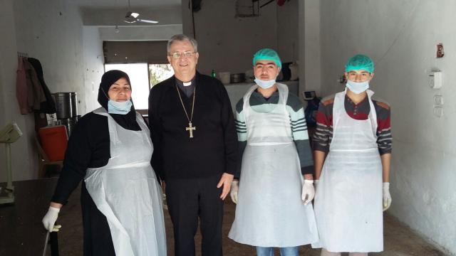 Mgr. Bonny in Syrië © Bisdom Antwerpen
