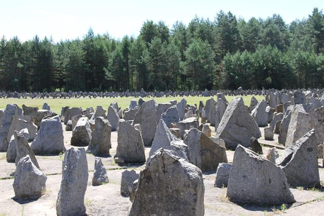 WOII-site in het Poolse Treblinka © IJD