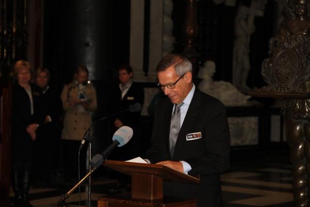 Rector Ludo Collin © Bisdom Gent, foto: Tim Vanmechelen
