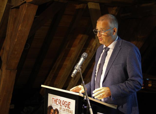 Gastspreker Stijn Van den Bossche © Bisdom Gent, foto: Ellen Eeckhout