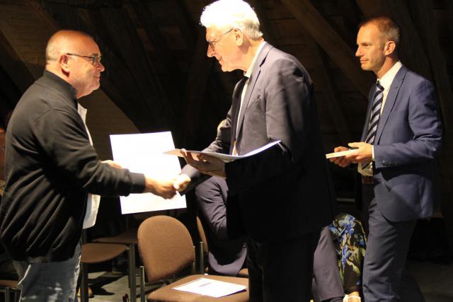 Uitreiking diploma's © Bisdom Gent, foto: Ellen Eeckhout