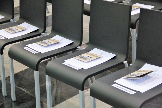 Klaar voor de opening © Bisdom Gent, foto: Ellen Eeckhout