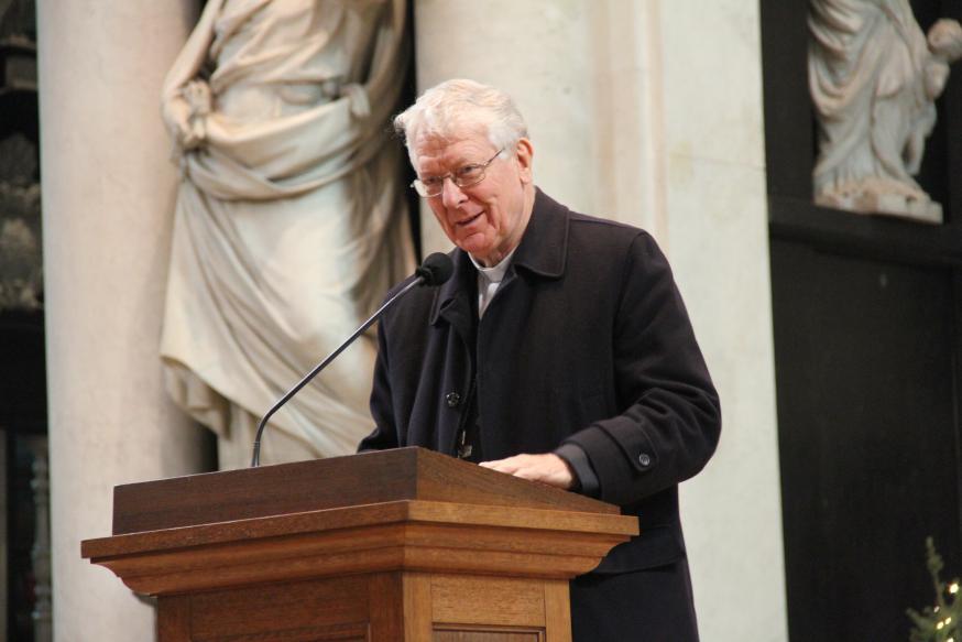 Bisschop Luc Van Looy © Bisdom Gent, foto: Ellen Eeckhout