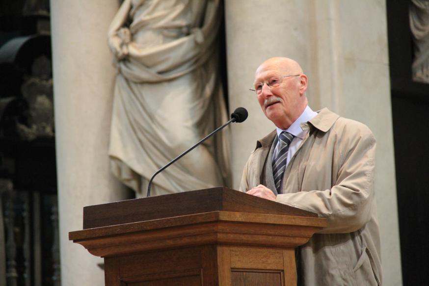 Professor-emeritus Herman De Dijn © Bisdom Gent, foto: Ellen Eeckhout
