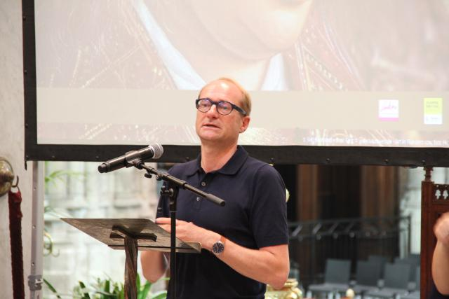 Minister van Toerisme Ben Weyts © Bisdom Gent, foto: Ellen Eeckhout