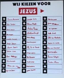 de kieslijst