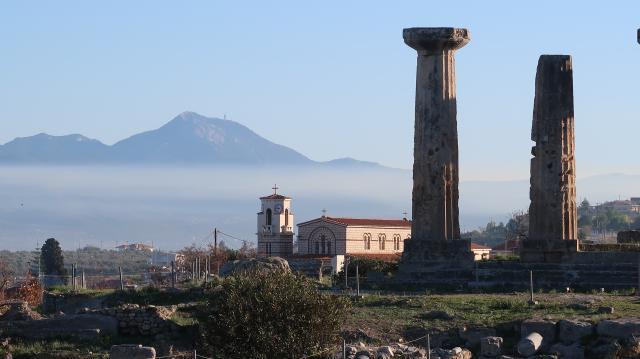 """Eén van de prachtige uitzichten in Griekenland, die we tijdens de prospectie hebben mogen aanschouwen. Voor de spirireis """"Aan de christenen van Korinthe..."""""""