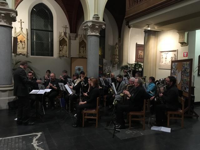 Koninklijke Harmonie Sint-Martinus Halle verzorgt avondmis op 25 november 2017