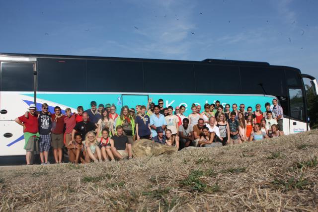 Nog een groepsfoto als afsluiter van een geweldige reis. © Patrick Derde