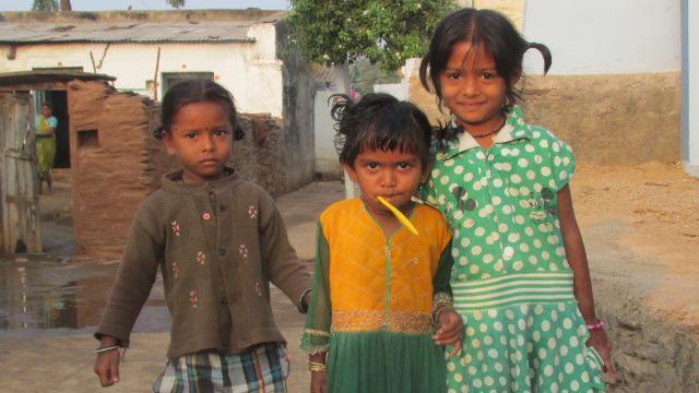 Mummy Home- India/ kinderen © Marina Vanderhoeven