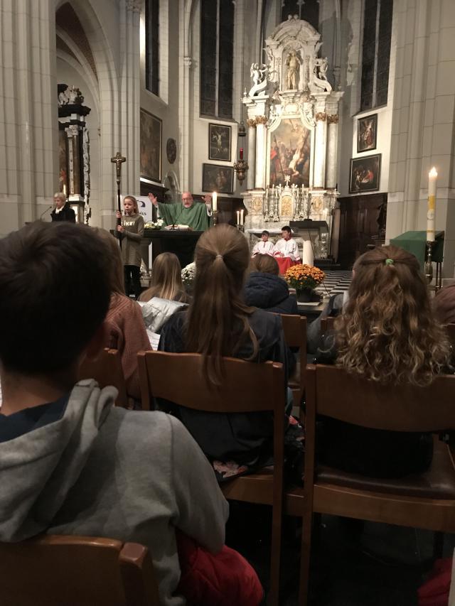 2019 vorm welkom in de mis