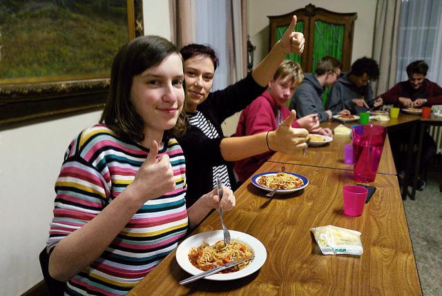 De spaghettiavonden bij Jokri Waasland: warm aanbevolen! © BVR