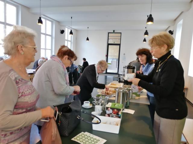 Koffiestop Sint-Baafshuis © Bisdom Gent, foto: Claire-Marie Cloquet