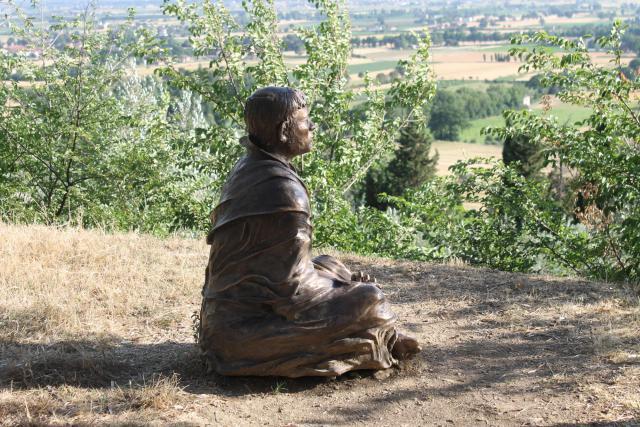 Franciscus van Assisi © foto: Joris Polfliet