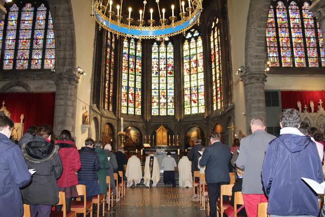 litanie van alle heiligen © Kerknet, foto: Lieve Wouters