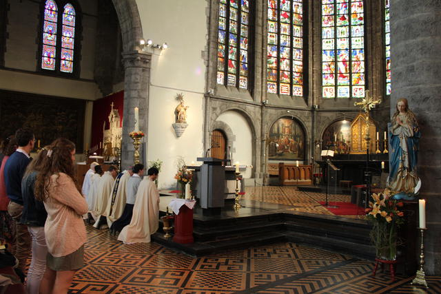 litanie van alle heiligen © Kerknet foto: Lieve Wouters