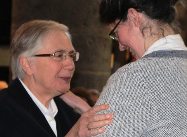 zuster Noëlla en zr. Karen  © Kerknet foto: Lieve Wouters