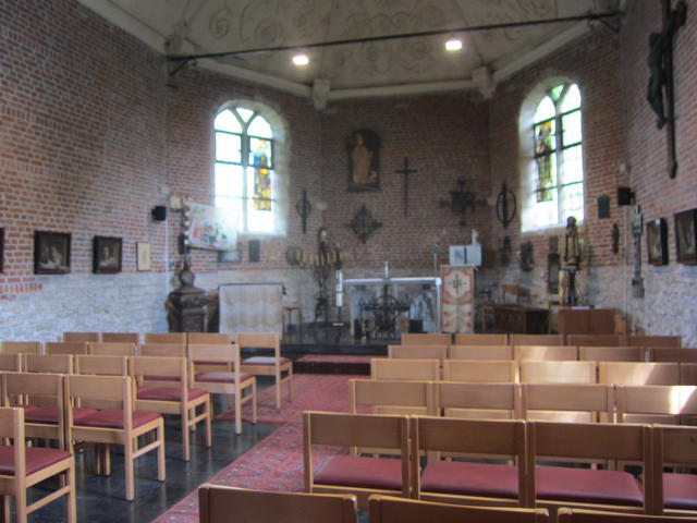 binnenkant Sint Elooikapel