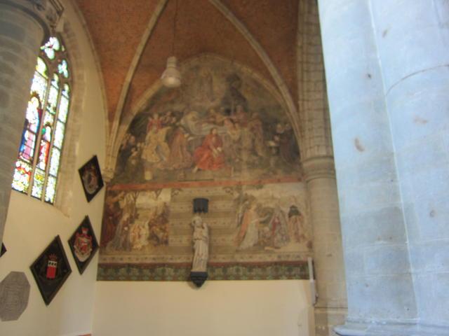 de muurschilderingen