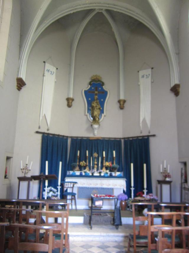een unieke kans om de kapel van Amelgem langs binnen te bekijken