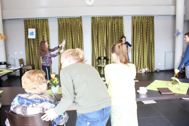 Feest met vormelingen in WZC ter Bleeke