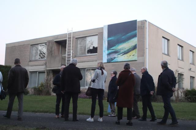Opening openluchttentoonstelling Caelum © Jente Vandewijer