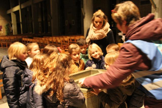 Hier worden de kindjes gedoopt © JvR
