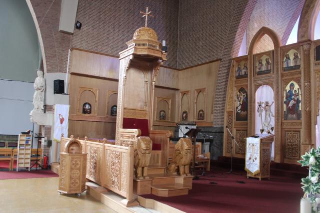 De troon voor de bisschop © JvR