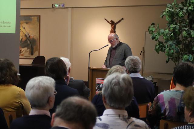 """Kris Bukcinx: """"Zou het onze missie niet zijn dat we leerlingen worden van Christus en anderen tot leerling maken?"""" © Jente Vandewijer"""