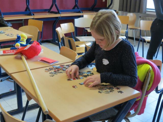 puzzelen... © Kerk Stekene en Sint-Gillis-Waas