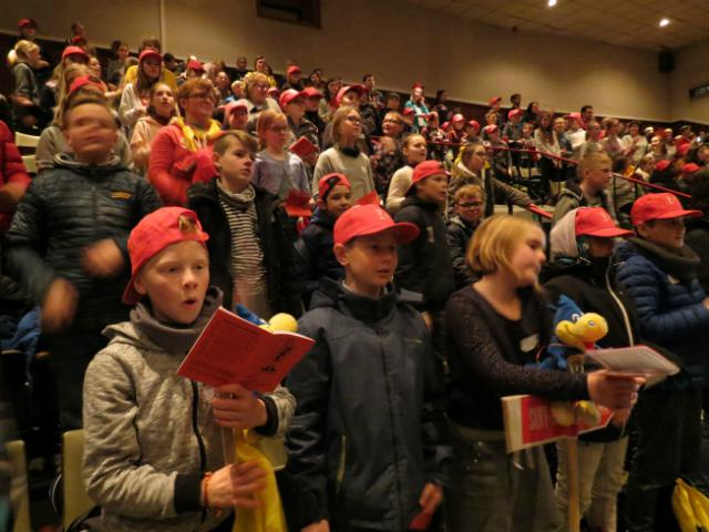 zingen in de Groenzaal © Kerk Stekene en Sint-Gillis-Waas