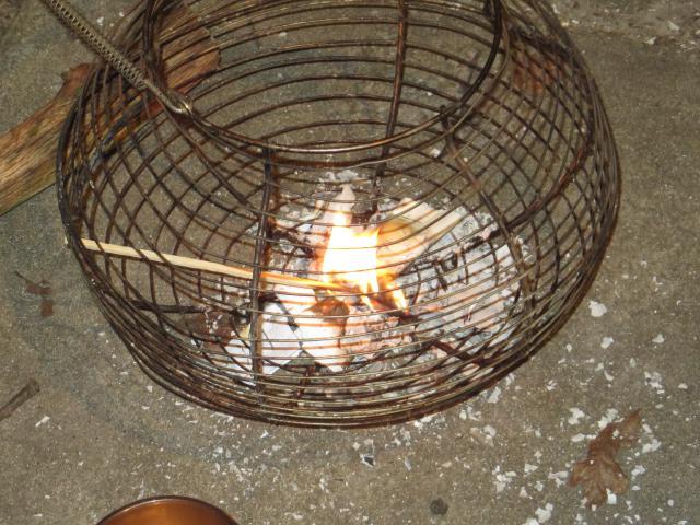 De zondekes worden verbrand © Ilse Van Boven