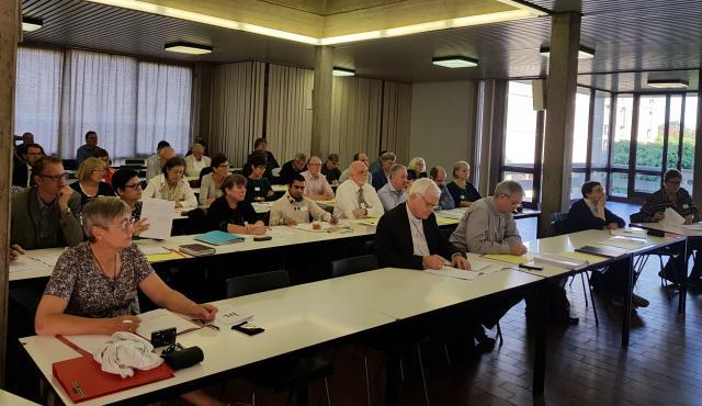 De plenaire vergadering van het IPB-Forum van zaterdag 6 oktober 2018 in het Antwerpse TPC © IPID/GL