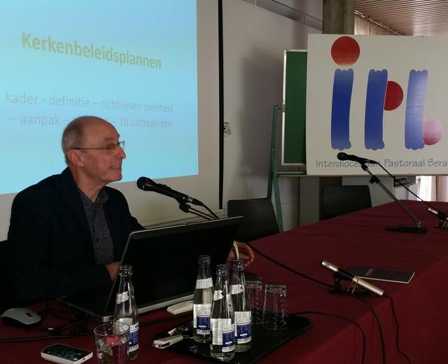 Jan Jaspers, directeur departement Onroeferend Erfgoed van het CRKC © IPID