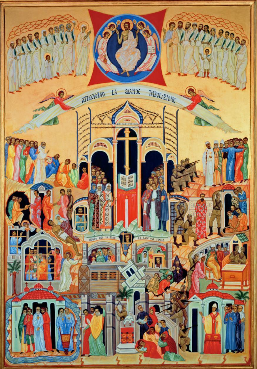 Icoon martelaren © Bron: Basiliek van San Bartolomeo op het Tibereiland, Rome