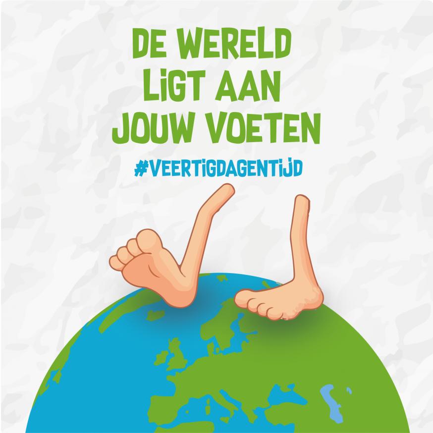De wereld ligt aan je voeten  © Aagje Van Impe