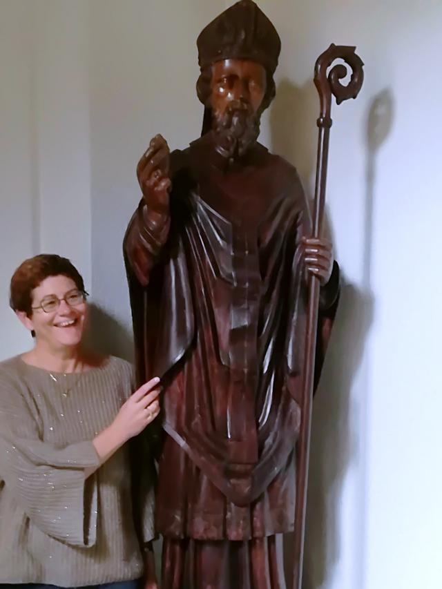 Ilse Van Gorp en de heilige Augustinus