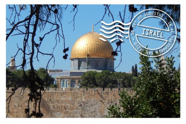 Ga mee met IJD naar Israël en Palestina!