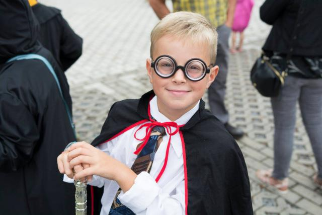 Harry Potter in hoogst eigen persoon was op bezoek