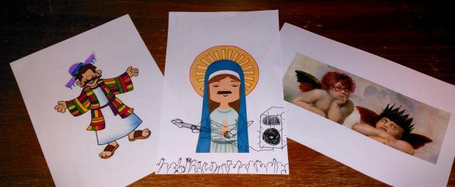 Sommige Bijbelfiguren kregen een heuse make-over! © BVR