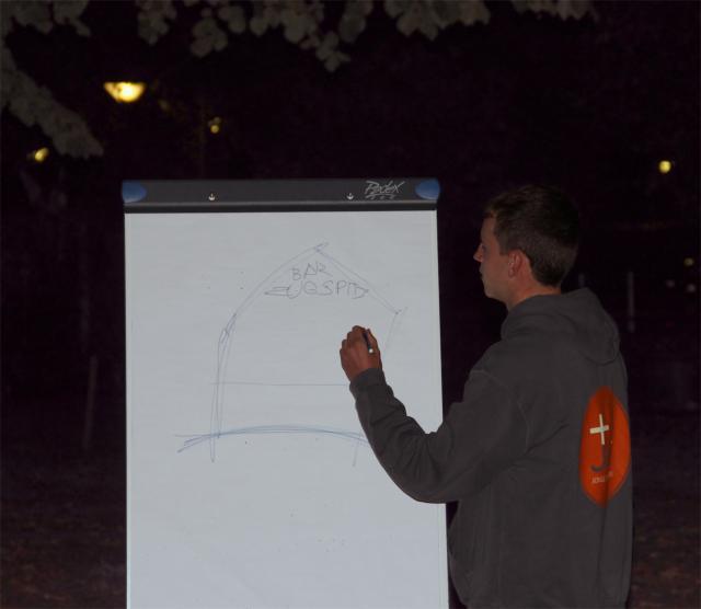 Beter dan een vakantiefoto: je vakantie proberen uitleggen met een tekening © ADB