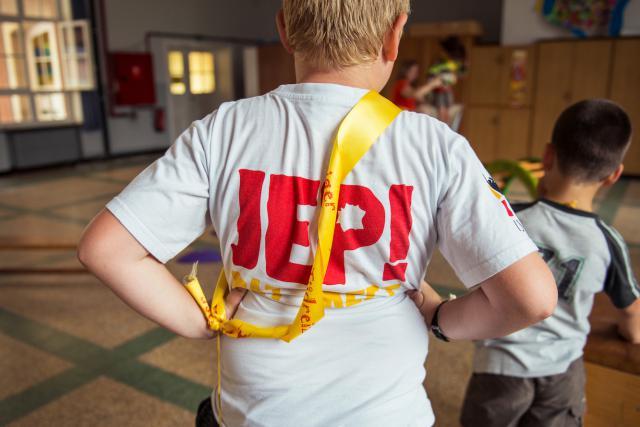IJD-kamp 'Gewoon gaan!' in Vorselaar. © Tim Coppens